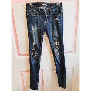 """Bullhead """"skinniest"""" jeans"""
